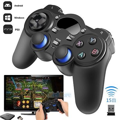 2.4G Wireless Game Controller Gamepad Joystick for Android TV Box Tablets PC GPD