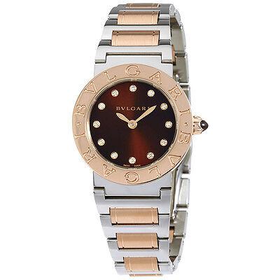 Bvlgari Stainless Steel Ladies Watch 102155