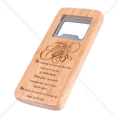 Engraving Wooden Beer Bottle Opener For Groomsmen Bar Gift Wedding Favors b (Wedding Gifts For Groomsmen)