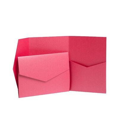Pocket Invite Kits. Wedding Card Pack. Craft Cards. Wallet Wedding Invites Craft](Pocket Wedding Invitation Kits)