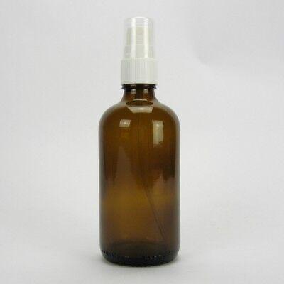 3x Sala Braunglasflasche Apothekerflasche Pumpzerstäuber Sprühpumpe 100 ml