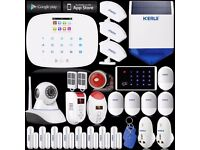 Home Automation KERUI G19 GSM RFID Home Alarm System Security Kit 720P IP Camera, Real Bargain