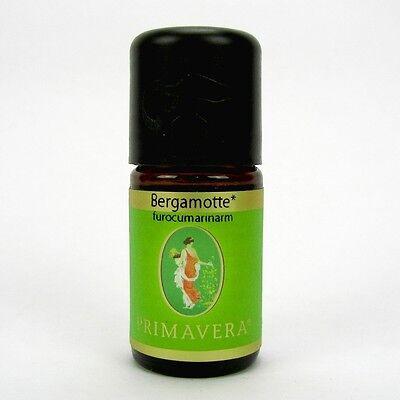 Primavera naturreines ätherisches Öl Bergamotte furocumarinarm bio 5 ml