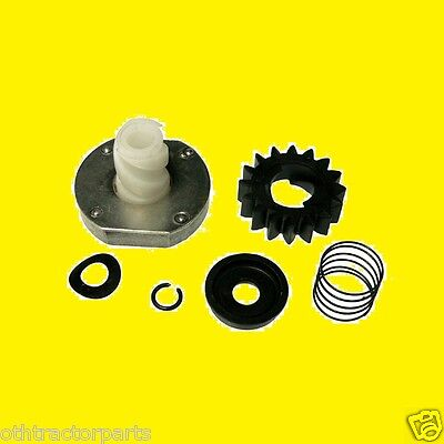 Briggs & Stratton Starter Drive Gear Kit  Plastic C-Clip Sytle 497606, 696541 - Gear Drive Kit