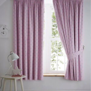 Pale Pink Curtains Ebay