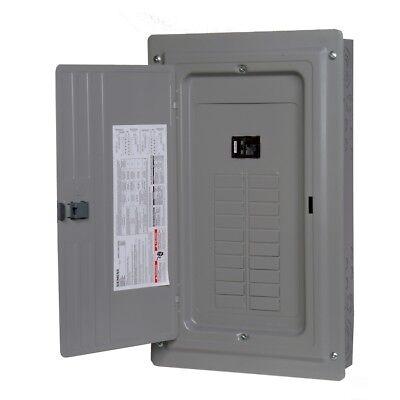 Siemens 100-amp Indoor Main Breaker Electrical Panel Box - 20-circuit 20-space
