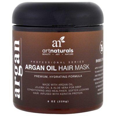 ArtNaturals Argan Oil Hair Mask -  - Deep Conditioner - 100%