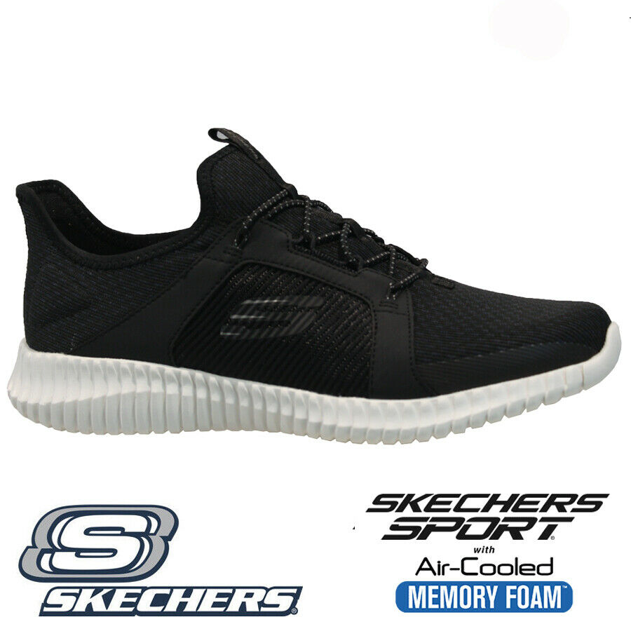 Details about MENS SKECHERS RELAXED FIT LITE WEIGHT MEMORY FOAM WALKING TRAINERS SHOES SIZE