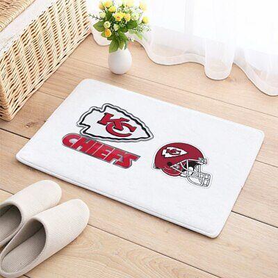 - Kansas City Chiefs Carpet Mat Floor Door Home House Cotton Football Sports Team