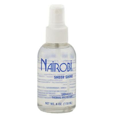 Nairobi Sheer Shine 4 fl. oz. (118 ml) Enhancer & Thermal Protectant