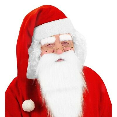 WEIHNACHTSMANN MÜTZE Weihnachten Nikolaus Santa Claus Kostüm Zubehör Hut # 1502 ()