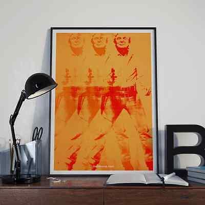 DONALD TRUMP warhol elvis 2A POP FINE ART poster mike slobot election 2016 13x19