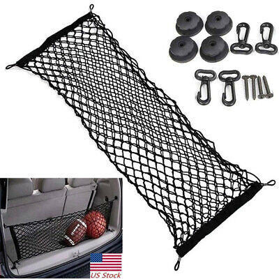 Car Accessories Trunk Cargo Net Envelope Style Universal Car Interior Parts - Parts Toyota Sequoia