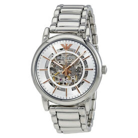 Armani AR1980 Luigi Automatic Mens Watch RR £399 Now Only £169