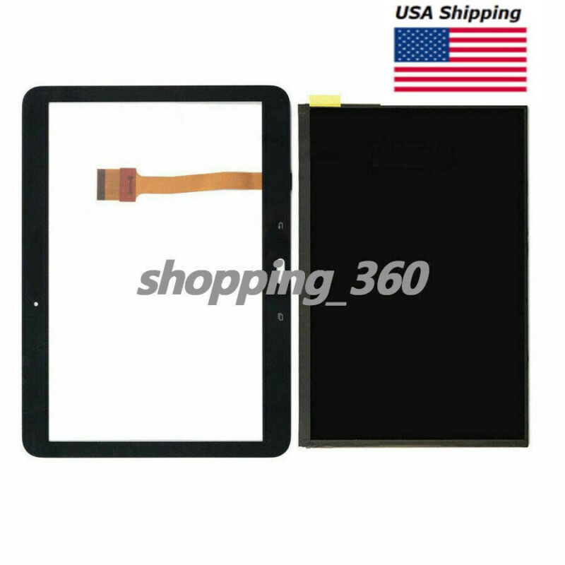 FOR SAMSUNG Galaxy Tab 4 10.1 SM-T530NU SMT537V Touch Digitizer +LCD Screen USPS