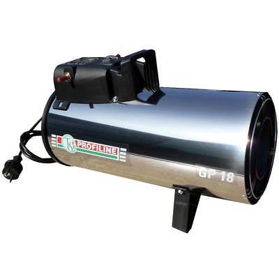 TGO Profiline Gas Heizgebläse 65318/M 11-18 kW piezo Propanheizgerät