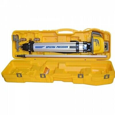 Spectra Precision Ll300n-2 Self Leveling Laser Level Kit -inches Rod