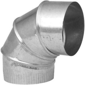"5"" Galvanized Steel Elbow"