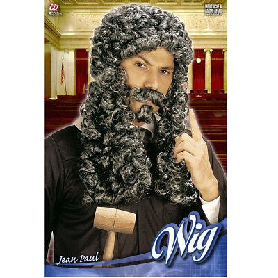ART England Mittelalter Anwalt König Herren Kostüm Party 6214 (Richter Perücken)