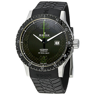 Edox Chronorally 1 Automatic Mens Watch 80094 3N NV