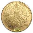 Austria 100 Corona Gold Coin (0.9802 oz) Random Year BU - SKU #104271