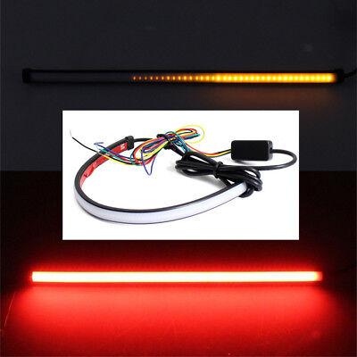 45cm LED Auto Blinker Bremsleuchte Sequentiell LAUFEFFEKT Rot/Gelb selbstklebend