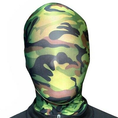 MorphMask TARN MASKE Camouflage Strumpfmaske Soldaten Kostüm Party Morphsuits