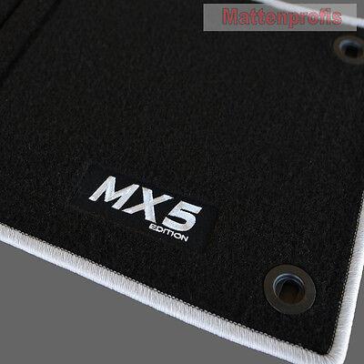 Sitzbezug klimatisierend schwarz für Mazda MX-5 3 NC Roadster Cabriolet 2-türer