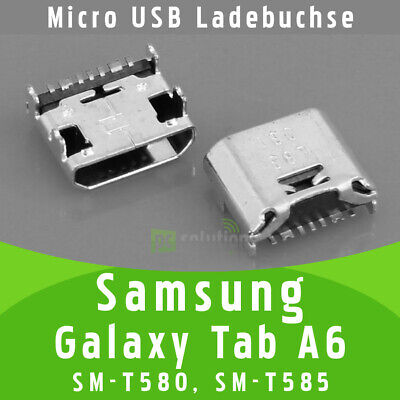 Samsung Galaxy Tab A6 SM-T580 SM-T585 Micro USB Buchse Ladebuchse Port Connector