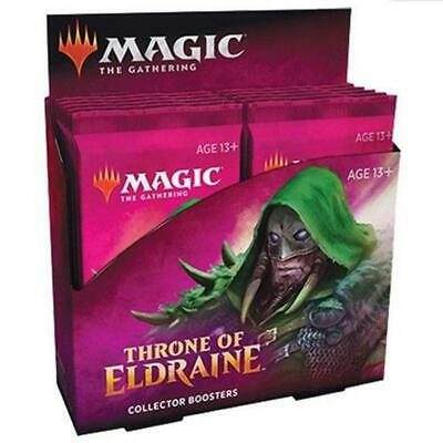 MTG Throne of Eldraine Collector Booster Box (12 Packs) ELD Magic the Gathering