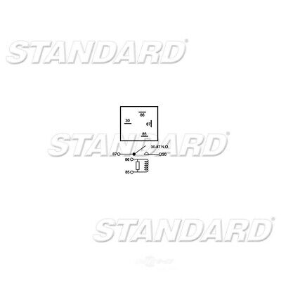 A/C & Heater Relay-X-Contact Relay Standard RY-255