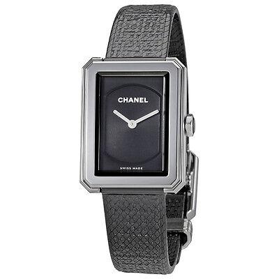 Chanel Boy-Friend Black Dial Ladies Watch H5317