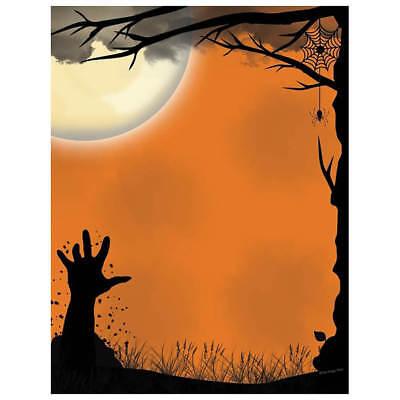 Halloween Computer Paper (Scary Graveyard Spooky Hand Halloween Computer Printer Paper (100 Sheets))