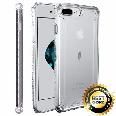 For Apple iPhone 7 Return Rugged Case Poetic Affinity Shockproof TPU Cover Clear