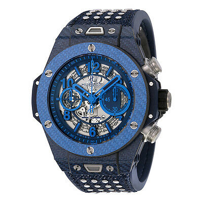 Hublot Big Bang UNICO Italia Independent Skeleton Dial Limited Edition Mens