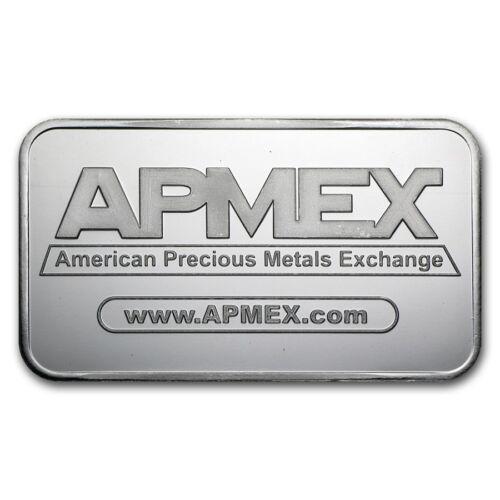 5 oz Silver Bar - APMEX - SKU #40249