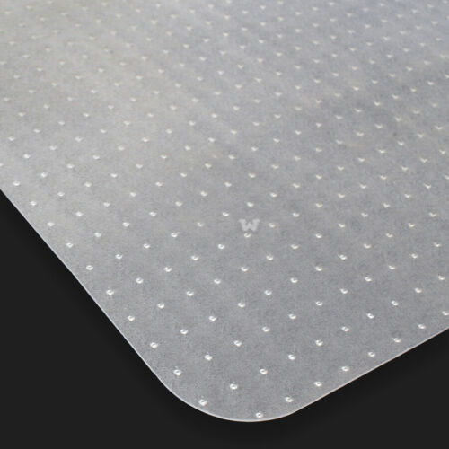 Set of 6 Home Office Chair PVC Floor Mat Studded Back w/ Lip For Carpet 48 x 36″ Business & Industrial