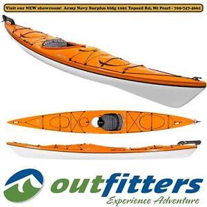 "Delta ""15.5 GT"" Touring Kayak by Delta for Sale – ""Sunset"" Orange - Stock#140822"