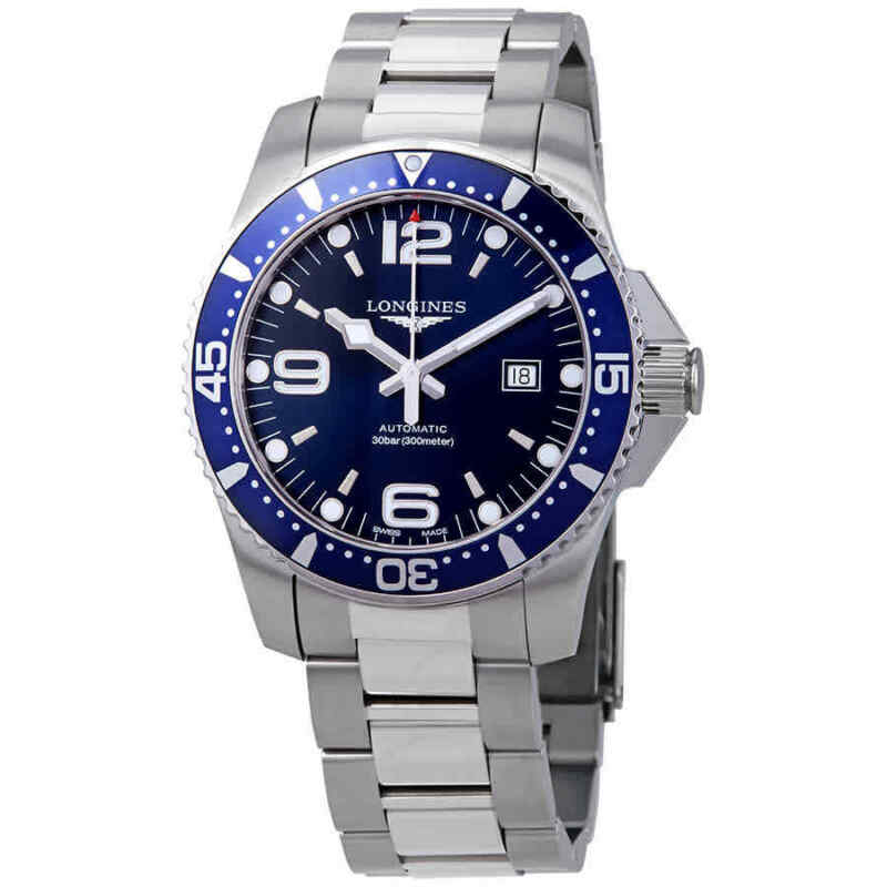 Longines HydroConquest Automatic Blue Dial 44 mm Men's Watch L3.841.4.96.6 - watch picture 1