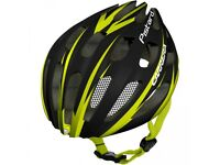 Carrera women bicycle helmet with safety light - LIKE NEW