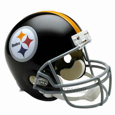 (PITTSBURGH STEELERS 63-76 THROWBACK NFL FULL SIZE REPLICA FOOTBALL HELMET)