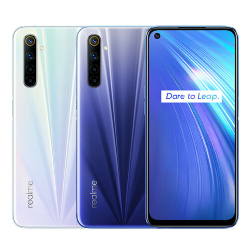 "realme 6 4 GB 64 GB 6.5"" Handy Smartphone NFC 64MP Quad Camera 90Hz EU Version"
