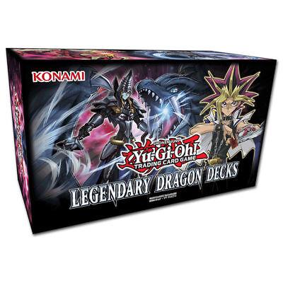 Yu-Gi-Oh Legendary Dragon Decks 3 - DEUTSCH - 1.Auflage