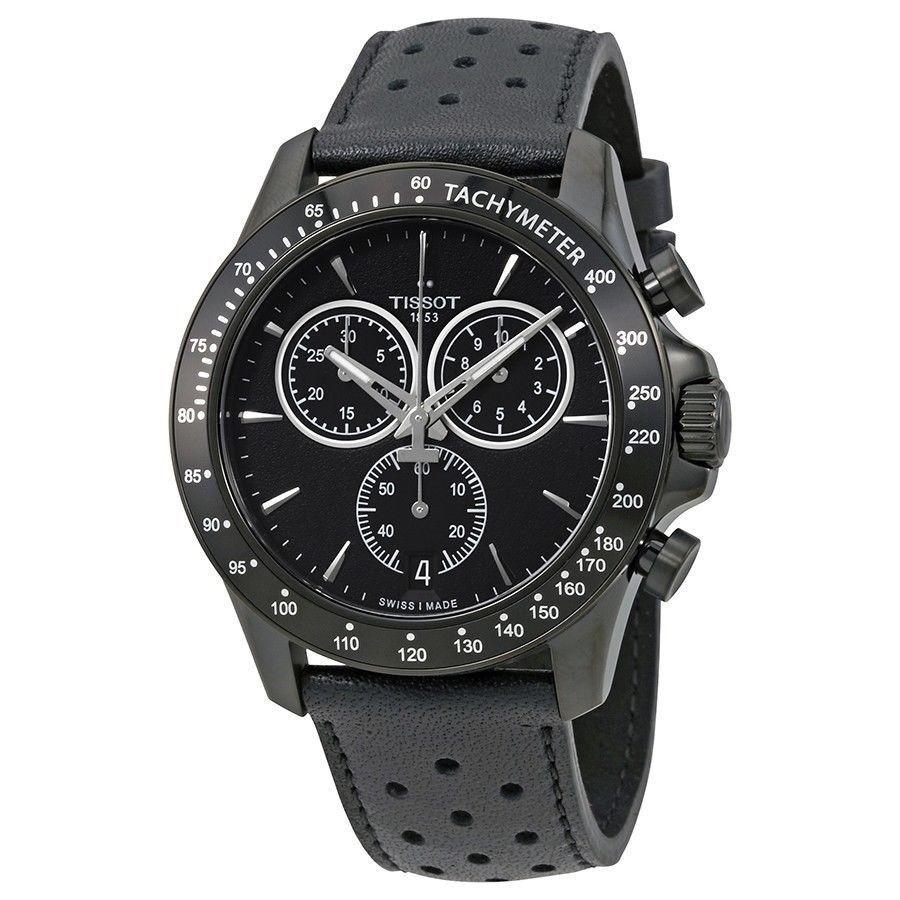 Tissot T-Sport V8 Chronograph Black Dial Mens Watch T106.417