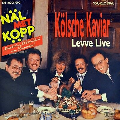 "7"" NÄL MET KÖPP Kölsche Kaviar / Levve Live SEYCHELLES MUSIC Karneval..wie NEU!"