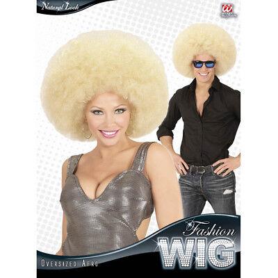CKE 70er 80er Jahre Hippie Afrolook Kostüm Flower Power 04674 (Blonde Afro-perücke Kostüm)