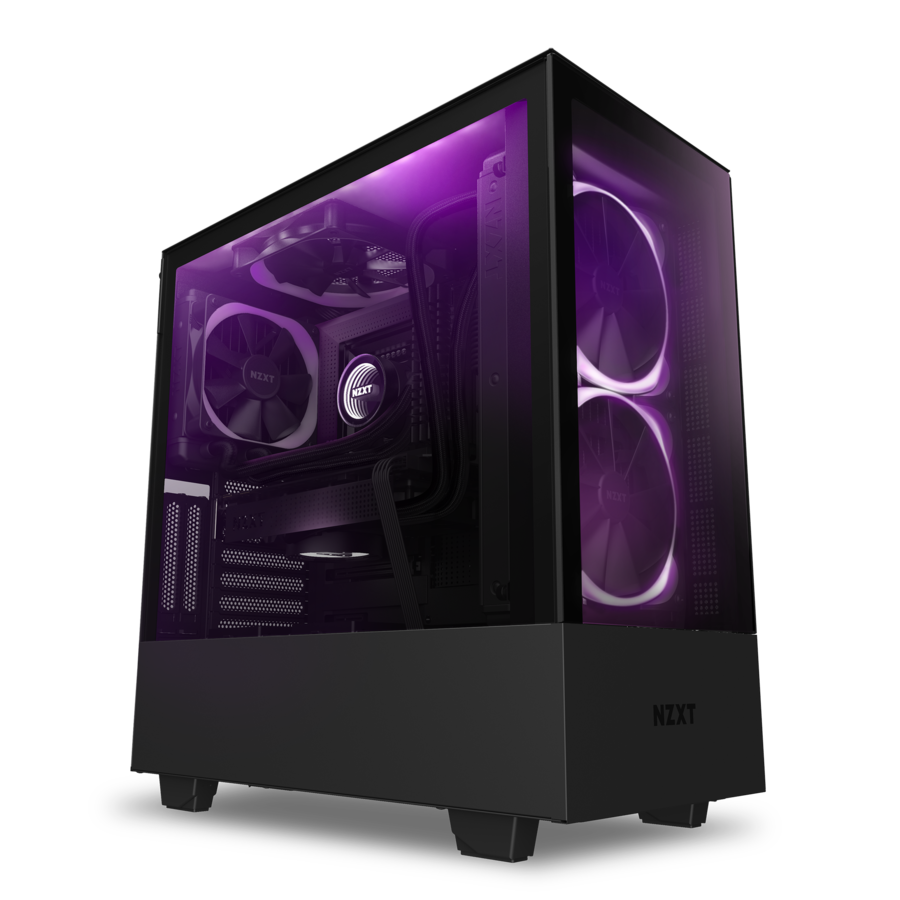 NZXT - H510 Elite Compact Mid-Tower Case - Black - $144.99