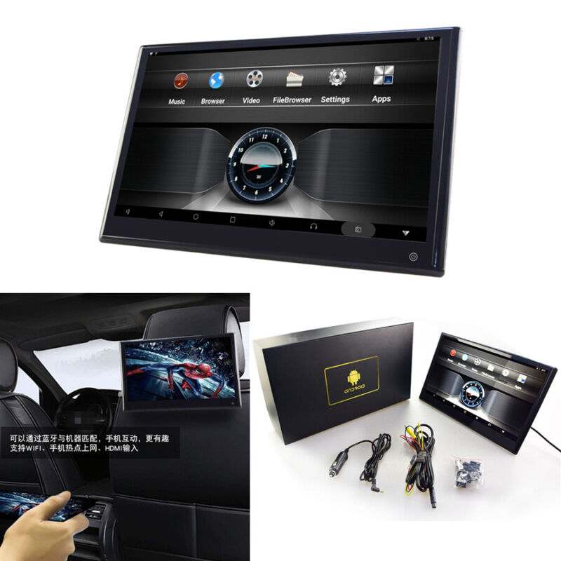 "12.5"" HD Android 9.0 Car Rear Monitor Player Touch Screen 2GB+32GB HDMI WIFI 1x"