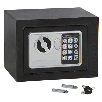 Durable Digital Electronic Safe Box Cash Money Jewelry Gun Security Home Office