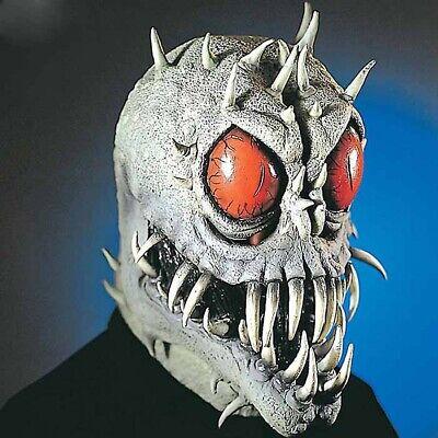 ALIEN MONSTER MASKE # Halloween Horror Grusel Alienmaske Kostüm Space Deko - Alien Maske Kostüm